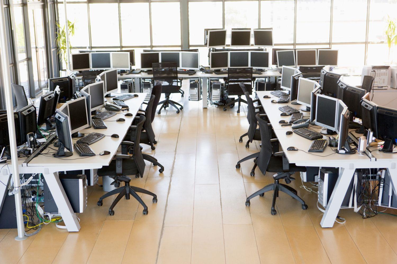 Thema Netzwerksicherheit: Computerarbeitsplätze