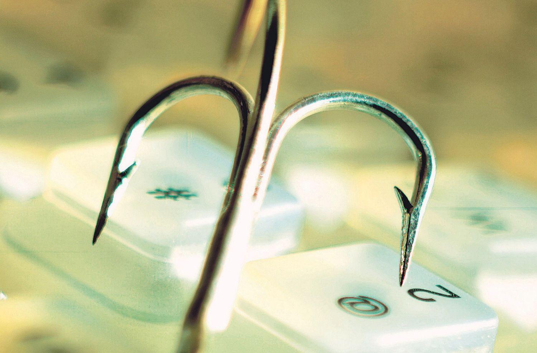 Thema IT-Haftpflicht: Ein Angelhaken