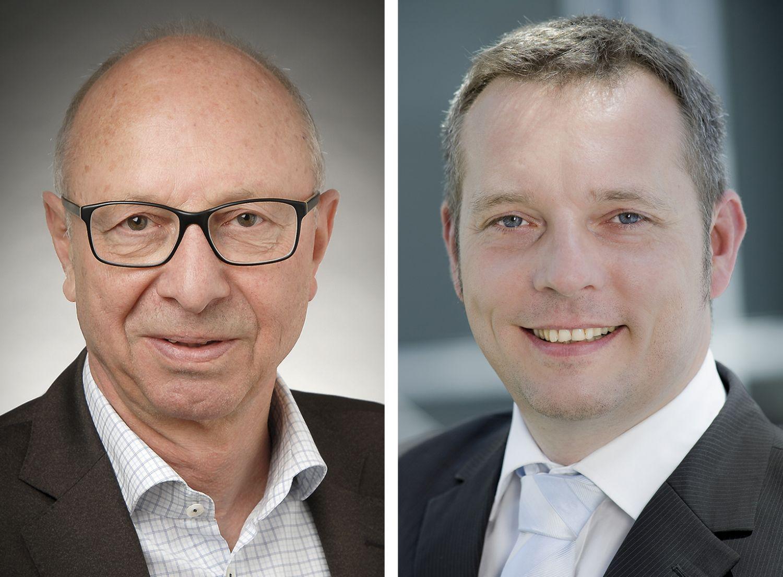 Portraits Ernst Lorenz, Business Development Manager (Oracle) & Michael Köhler, Leiter Cybersecurity (CapGemini Deutschland GmbH)