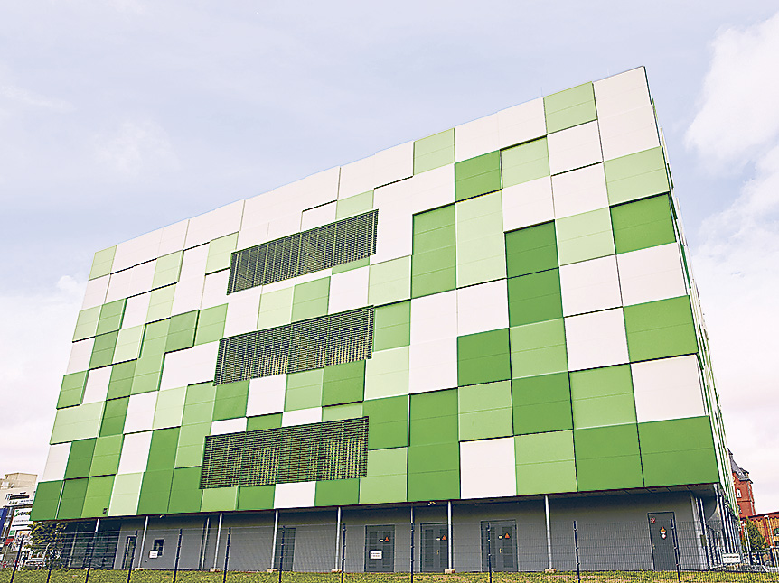 Rechenzentrum von maincubes FRA01