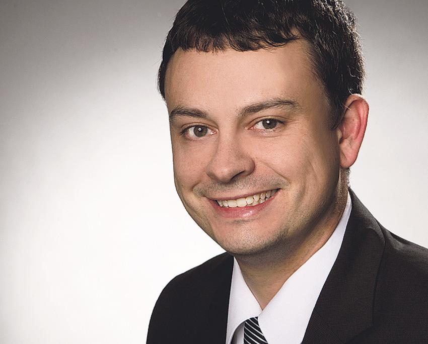 Christian Haas von der Fraunhofer Academy. Thema: IT-Sicherheit 4.0